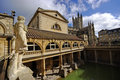 Roman baths, City of Bath, UK Royalty Free Stock Photo