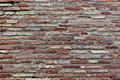 Roman brick wall an ancient Royalty Free Stock Images