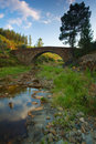 Roman Bridge Stock Photography