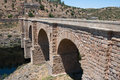 Roman bridge of alcantara extremadura spain caceres province Royalty Free Stock Image