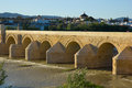 Roman bridge of Cordoba, Spain Stock Photos