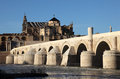 Roman Bridge in Cordoba, Spain Royalty Free Stock Images