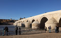 Roman Bridge in Cordoba, Spain Stock Photos