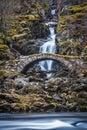 Roman Bridge Glen Lyon Scotland Royalty Free Stock Photo