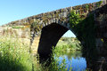 Roman bridge idanha a velha portugal at Royalty Free Stock Photography