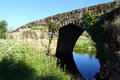 Roman bridge idanha a velha portugal at Stock Photography