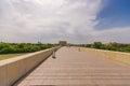 Roman bridge over guadalquivir river cordoba calahorra tower torre de la calahorra fortified gate to protect bridge Stock Photography