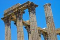 Roman building columns Royalty Free Stock Image