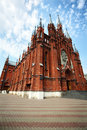 Roman-Catholic Cathedral in Moscow, Russia Royalty Free Stock Photography