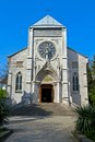 Roman catholic church in yalta Stock Photo