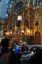 Roman catholicism in mexico city feb mexican people prays at the catedral metropolitana city continues to be the dominant Stock Photo