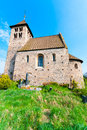 Roman church st peter s and paul s in porici nad vltavou in the czech republic Royalty Free Stock Photo