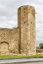 Roman circus tower tarragona spain a view of the Royalty Free Stock Image