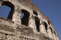 Roman coliseum Foto de Stock Royalty Free