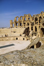 Roman Coliseum- El Djem, Tunisia Stock Photos