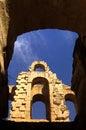 Roman Coliseum- El Djem, Tunisia Royalty Free Stock Photo
