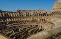 Roman Colliseum interior Royalty Free Stock Photo
