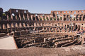 Roman colosseum the in rome italy Royalty Free Stock Photos