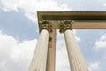 Roman column head. Royalty Free Stock Photo