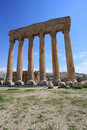 Roman Columns at Baalbeck, Lebanon Royalty Free Stock Images