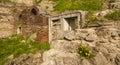 Roman Edifice,  part of Old Town of Constanta, Romania Royalty Free Stock Photo