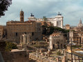 The Roman Forum Royalty Free Stock Photography