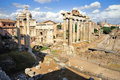 Roman Forum (Foro Romano) Royalty Free Stock Photos