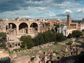 The Roman Forum - Rome, Italy Stock Photos