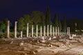 Roman Forum Ruins in Aquileia Royalty Free Stock Photo