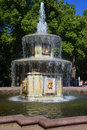 Roman fountain closeup of a sunny day in july peterhof saint petersburg russia Royalty Free Stock Photography