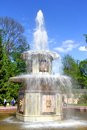 Roman fountain in petergof palace russia saint petersburg Royalty Free Stock Image