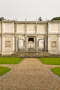 Roman garden ancient in rome italy Royalty Free Stock Image