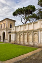 Roman garden ancient in rome italy Stock Photos