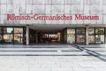 Roman germanic museum in cologne germany Royalty Free Stock Images