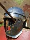 Roman helmet Stock Photo
