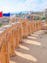 Roman hippodrome in Jerash, Jordan Royalty Free Stock Photography