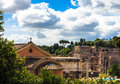 Roman impression in spring italy Royalty Free Stock Photo
