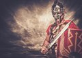 Roman legionary soldier Royalty Free Stock Photo