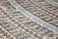 Roman mosaic Royalty Free Stock Photo