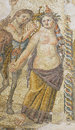 Roman Mosaic in House of Aion Royalty Free Stock Photo