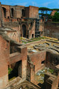 Roman ruins in Rome Royalty Free Stock Photo