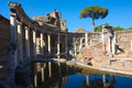 Roman ruins at tivoli italy the villa adriana near rome is an exceptional complex of classical buildings created in the nd century Stock Image