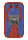 Roman shield Royaltyfria Bilder