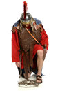 Roman Soldier In Front of Crown of Thorns Royalty Free Stock Photo