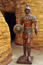 Roman Soldier Statue Royalty Free Stock Images