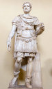 Roman soldier statue in Vatican museum. Royalty Free Stock Photo