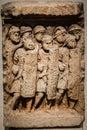 Roman Soldiers Gravestone Lyon France Royalty Free Stock Photo