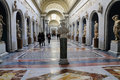 Roman Statues in the Vatican Museum Royalty Free Stock Photo