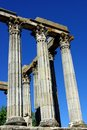 Roman temple of Evora Royalty Free Stock Photography