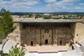 Roman theater of orange provence france Royalty Free Stock Photos